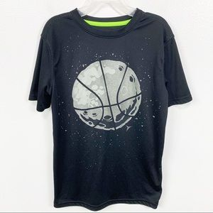 Boys Old Navy Active Basketball Graphic Shirt L